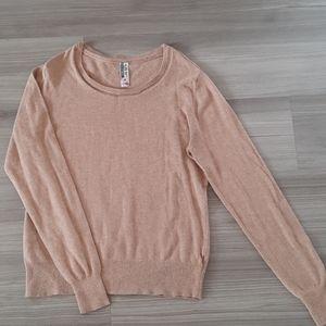 Azur Tan Sweater